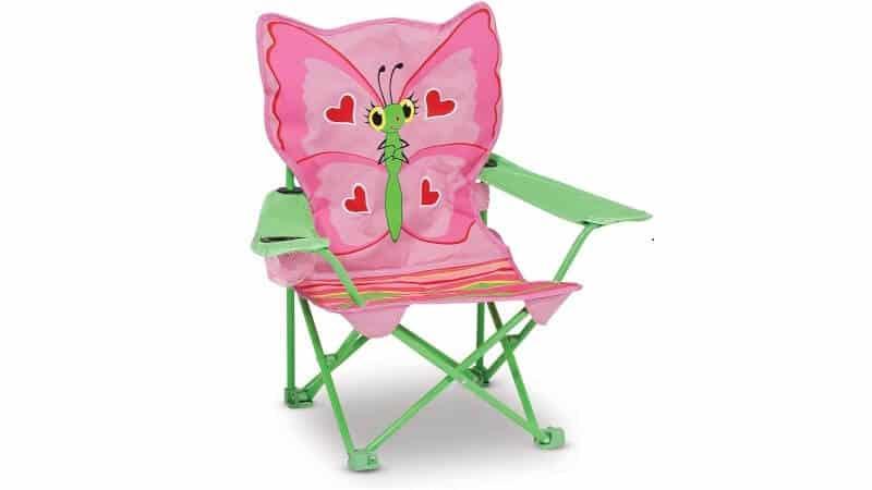 Melissa Doug Bella Butterfly Outdoor Chair