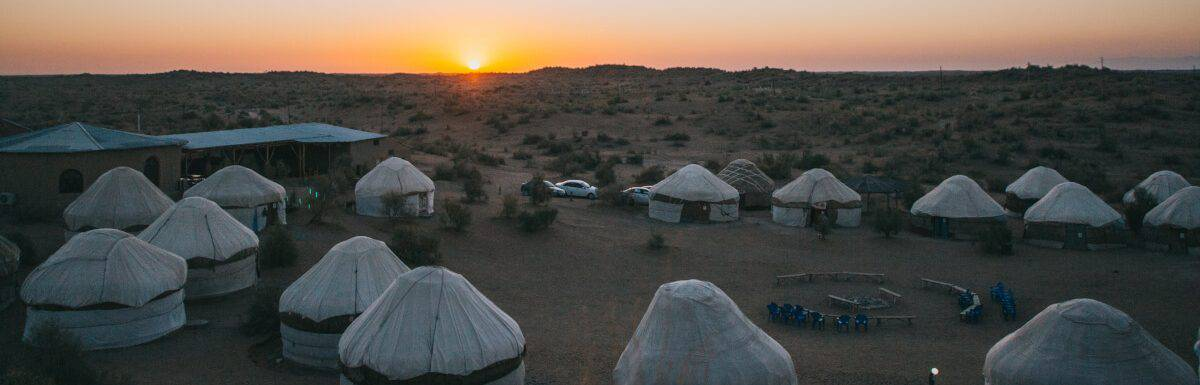 What Is A Yurt Camping