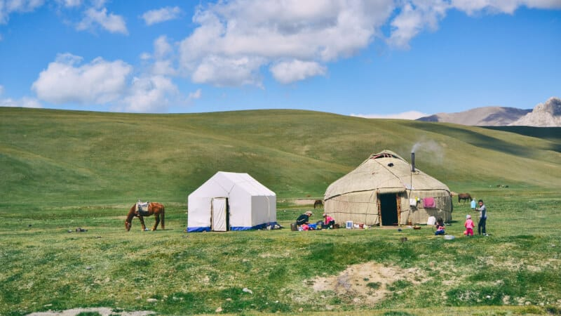 tent and yurt