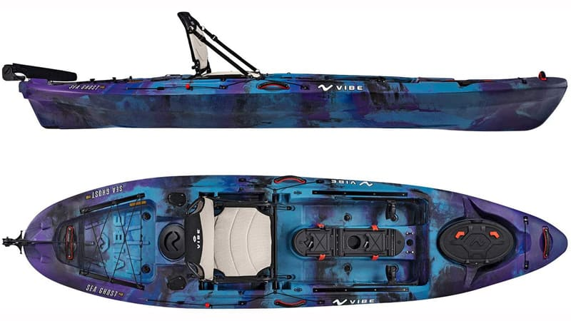 Vibe Sea Ghost 110 Features and Gears