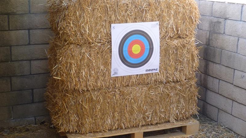 Compressed Straw Archery Target