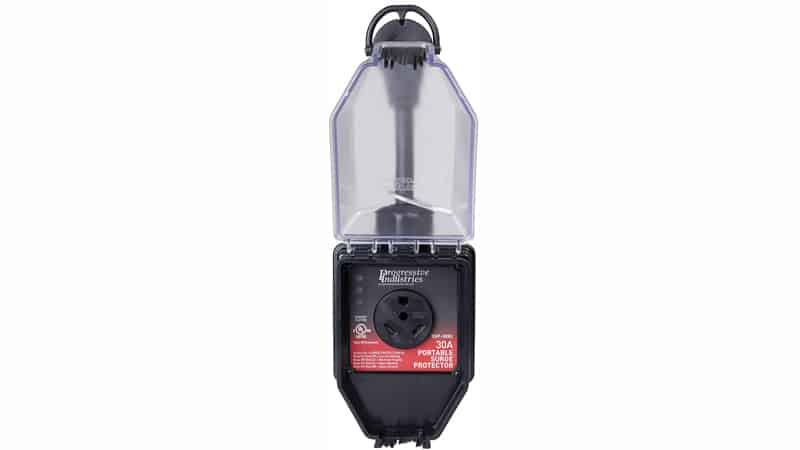 Progressive Industries 30 Amp Portable RV Smart Surge Protector With Cover (1 MIN), SSP-30XL