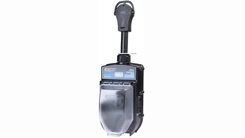 Progressive Industries 50 Amp Portable RV Electrical Management System Surge Protector (1 MIN), EMS-PT50X