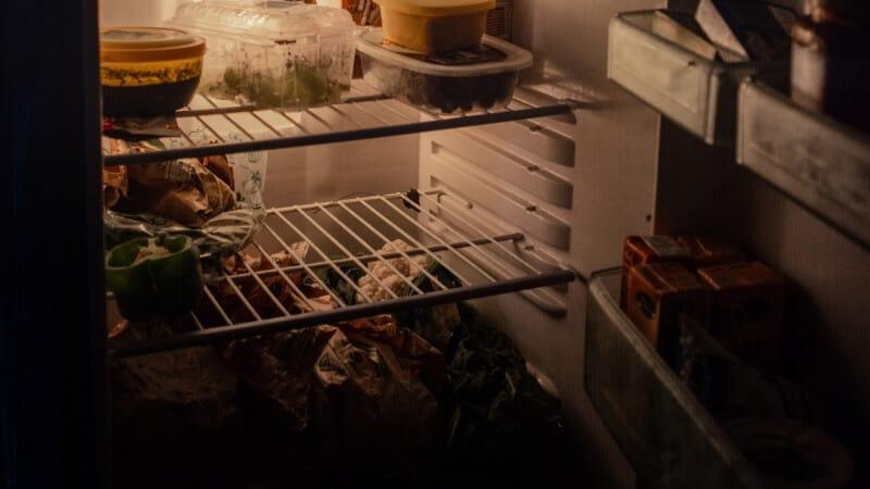 Refrigerator in the dark
