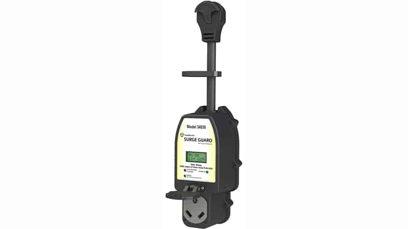 Southwire 34930 Surge Guard 30A – Full Protection Portable with LCD Display