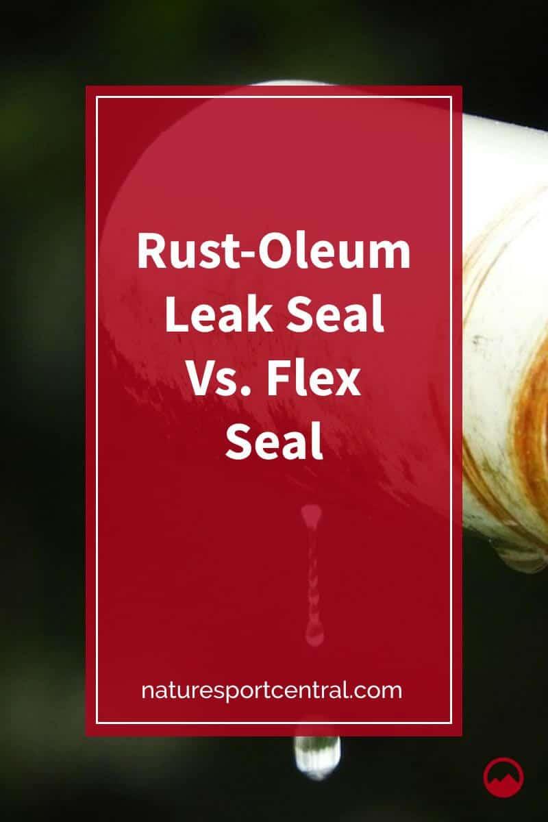 Rust-Oleum Leak Seal Vs. Flex Seal (1)
