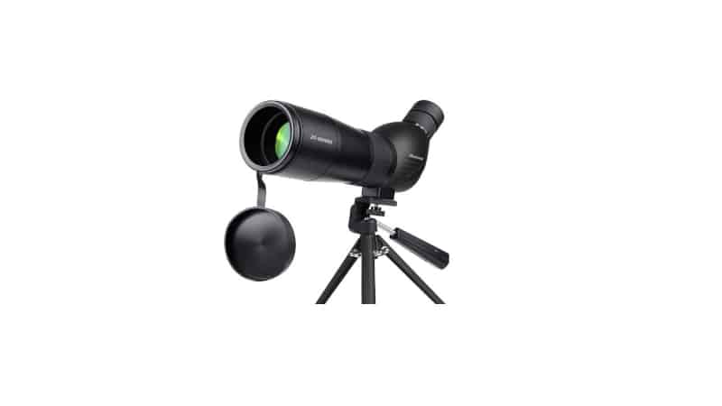 Spotting Scope Huicocy 20 60x60mm Zoom 39 19m 1000m Fully Multi-Coated Optical Lens Fogproof and Movable Eyepiece Rubber Design Telescope with Smartphone Mount Kit and Tabletop Tripod for Target