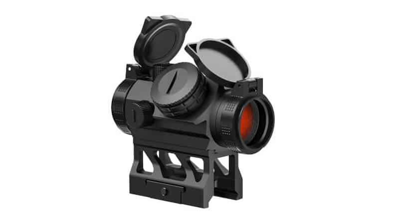 Feyachi V30 2MOA Red Dot Sight Auto On & Off 1x20mm Compact Reddot Optics with Low Profile and Absolute Co-Witness Mount