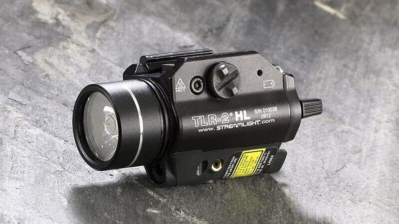 Streamlight 69261 TLR-2 HL 1000-Lumen LED Rail Mounted Tactical Light with Red Laser