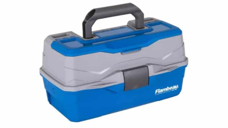 Flambeau Outdoors 6382TB 2-Tray - Classic Tray Tackle Box