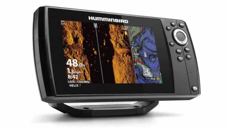 Humminbird 410950-1 HELIX 7 CHIRP MSI MEGA Side Imaging GPS G3 Fish Finder