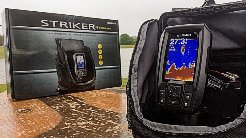 Best Side Imaging Fish Finder - Garmin Striker Plus 4 with Dual-Beam transducer