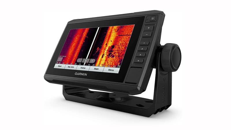 """Garmin ECHOMAP UHD 73sv with GT56UHD-TM Transducer, 7″"""" Keyed-Assist Touchscreen Chartplotter with U.S. LakeVü g3 and Added High-Def Scanning Sonar"""