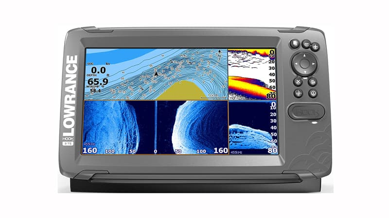 HOOK2 Fish Finder with TripleShot Transducer and GPS Plotter