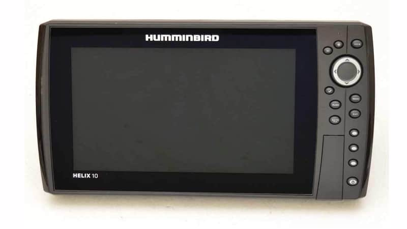 Humminbird HELIX 10 G3N Fish Finder with CHIRP, MEGA SI+, GPS, and 10.1-Inch-Display